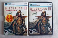 Игра для ПК диск PC DVD Game `Disciples III: Renaissance`